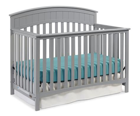 Amazon Com Graco Charleston Convertible Crib Pebble Graco Charleston Convertible Crib Reviews