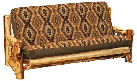 log futon bed peeled cedar log futon minnesota log futons lonesome