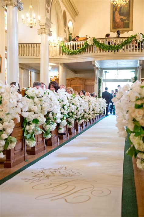 wedding ceremony decor wedding aisle decor door decor 13 beautiful d 233 cor ideas for a church wedding church