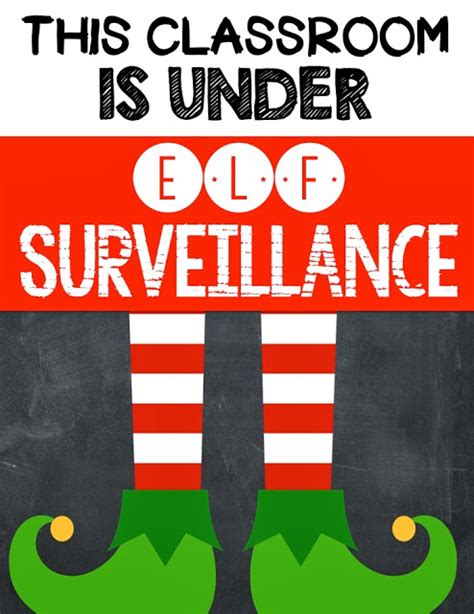 On The Shelf Surveillance by Seusstastic Classroom Inspirations Classroom Freebie