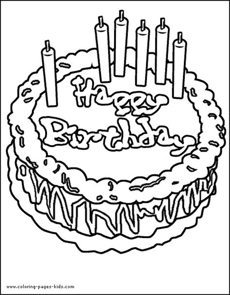 coloring happy birthday cakes candles pages animations a 2 z coloring pages of birthday cakes