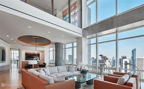575 million duplex penthouse in new york city floor