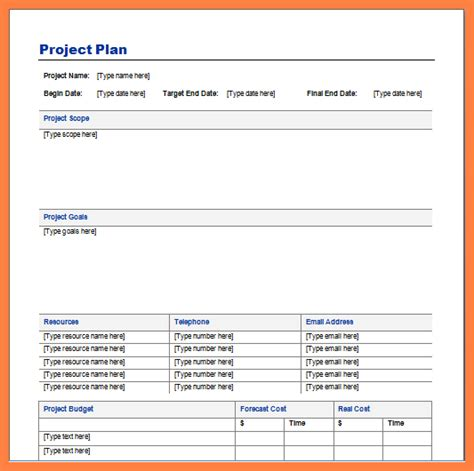itil runbook template simple project plan template 28 images new templates