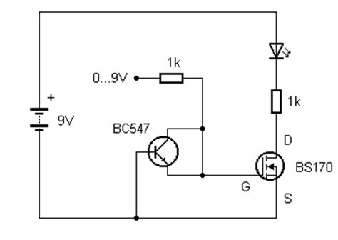 transistor durch fet ersetzen transistor durch fet ersetzen 28 images transistor schaltung analysieren elektronik forum