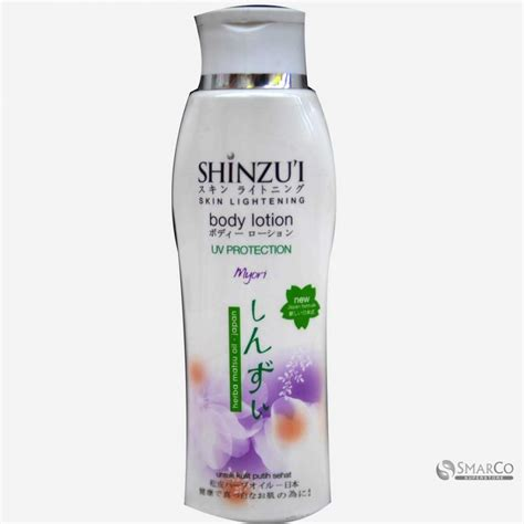detil produk shinzui lotion myori botol 210 ml