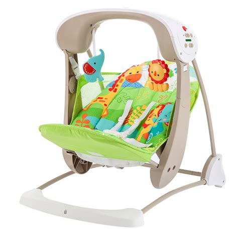 take along baby swing fisher price rainforest take along swing and seat