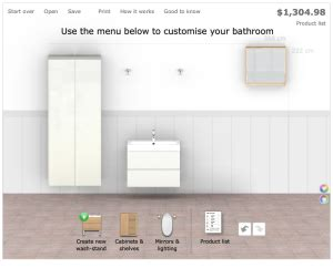 ikea bathroom design tool best free online bathroom planner tools 2017