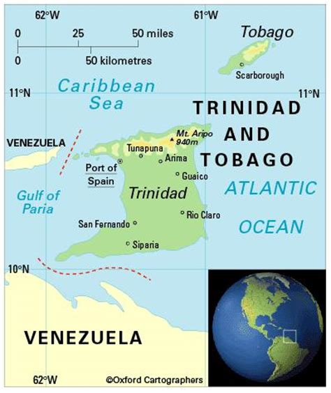 5 themes of geography trinidad and tobago geography in trinidad and tobago