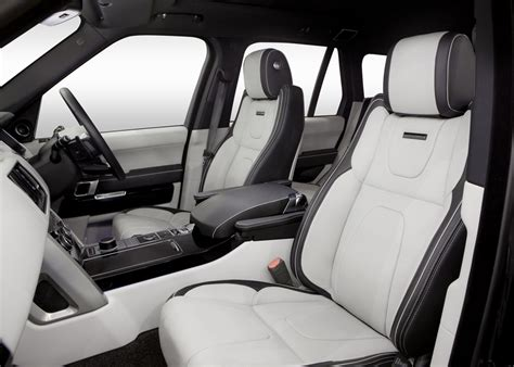 Black Range Rover White Interior by Top Car And Tuning Overfinch Range Rover 2014