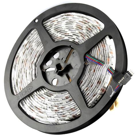Mainan Remote Car Lu Led 3d led light waterproof 5050 rgb 5m with 44 key remote white