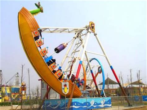 themed ride names giant frisbee pirate ship thrill pendulum ride for sale at