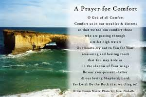 a prayer for comfort prayer inspiration