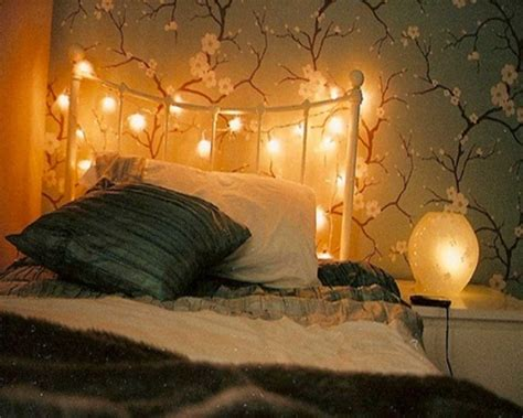 How To Hang A Headboard Without Nails by Hanging String Lights For Bedroom Trends And Images How To