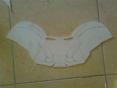 How To Make Iron Helmet With Paper - iron props helmet reactor armor