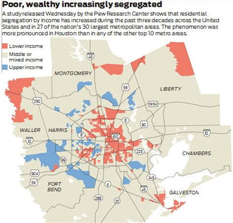 houston map ethnicity dividing houston into poor and rich areas real estate