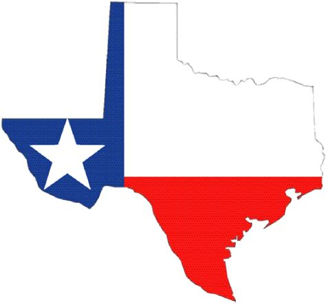 texas map clipart texas outline with flag clip at clker vector clip royalty free domain