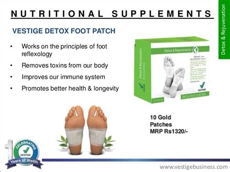 Hiwii Detox Foot Rejuvination Patches by Vestige Marketing Plan And Vestige Products