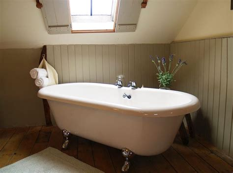 roll top bath in bedroom roll top bath for romantic holiday cottage break roof