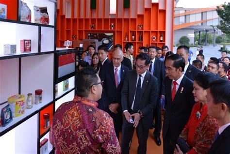 alibaba group di indonesia dorong umkm mendunia presiden jokowi jajaki peningkatan