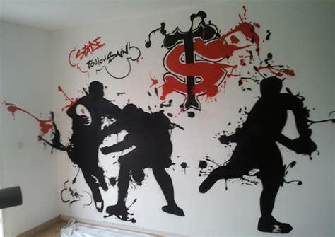 Wall Art Sticker chambre graff stade toulousain