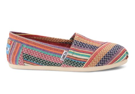 knit toms toms rust knit s classics in brown rust lyst