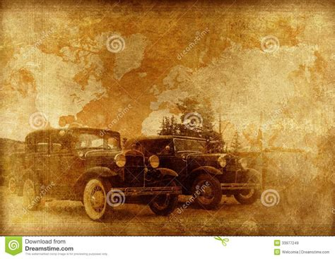 old vintage images classic cars background royalty free stock images image