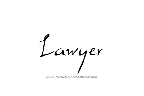 tattoo placement for lawyers lawyer profession name tattoo designs page 2 of 5