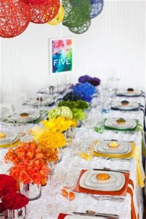 colorful table ls wedding ideas on rainbow wedding celtic