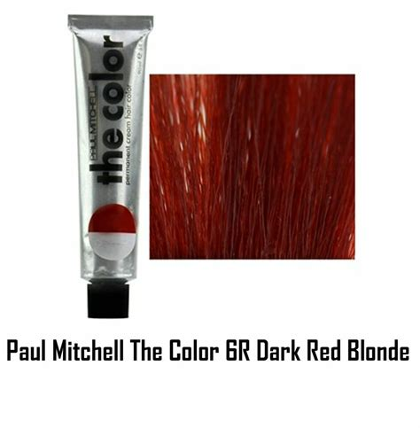 paul mitchell color paul mitchell the color permanent hair color 6r 3 oz