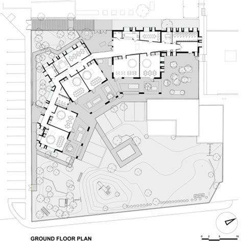 kindergarten school floor plan the kindergarten of the german school of athens potiropoulos d l architects archdaily