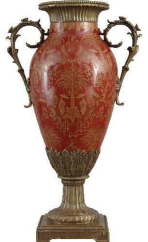 hill design porcelain porcelain vase with bronze ormolu traditional vases