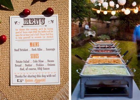 BBQ Wedding Reception Buffet Menu Ideas ? OOSILE