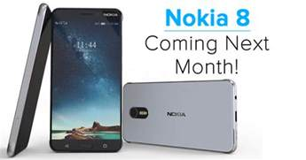 Nokia 8 with 23mp camera snapdragon 835 6gb ram coming