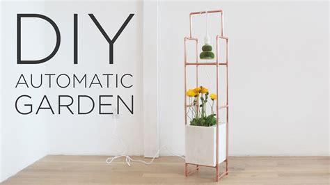 diy indoor garden  led grow lights youtube