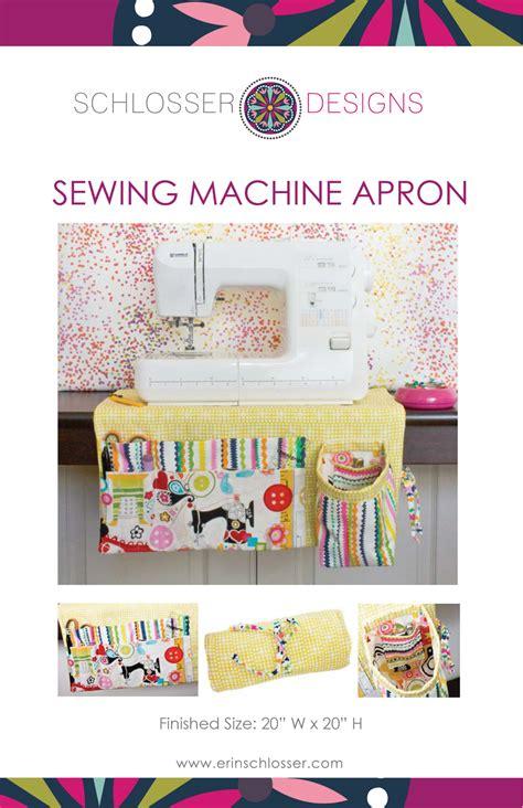 sewing machine apron sewing machine apron