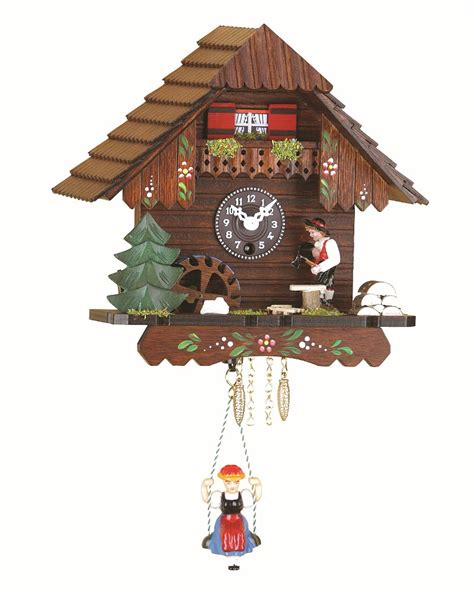 swiss house music black forest clock swiss house with music 1 day spring movement nr tu 224 sm