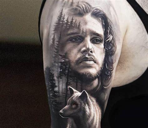 tattoo of us john jon snow tattoo by arlo tattoos post 15553