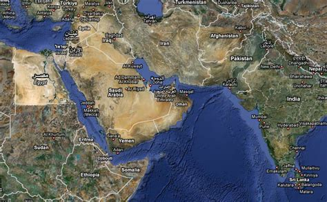 satellite map of middle east middle east map middle east map