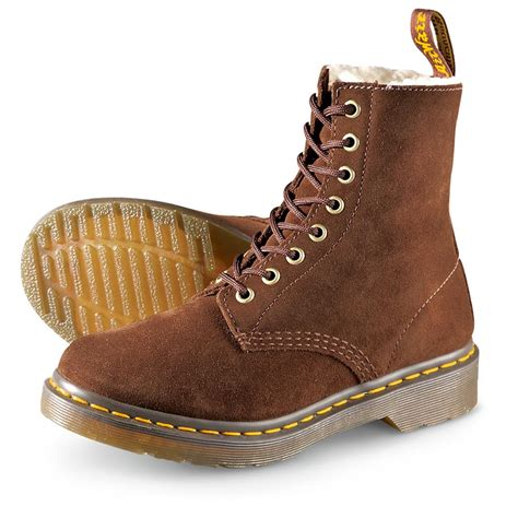 Dr Martens Boots 8217 s dr martens serena boots brown 211452 casual shoes at sportsman s guide