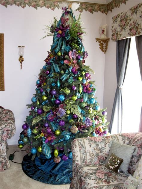 best 25 peacock christmas tree ideas on pinterest