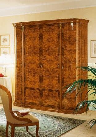 esf milady italian bedroom set  walnut lacquer finish