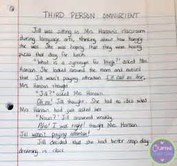 3rd Person Essay Exle by Elementary Snapshots Teaching Points Of View Through Play Free Lesson To