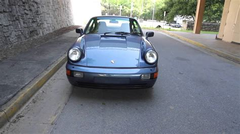 1990 porsche 911 blue 1990 baltic blue porsche 964 for sale