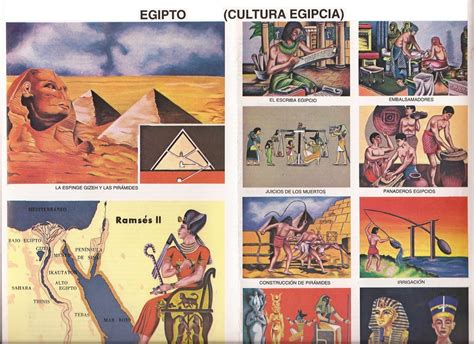 imagenes cultura egipcia monografias cultura egipcia