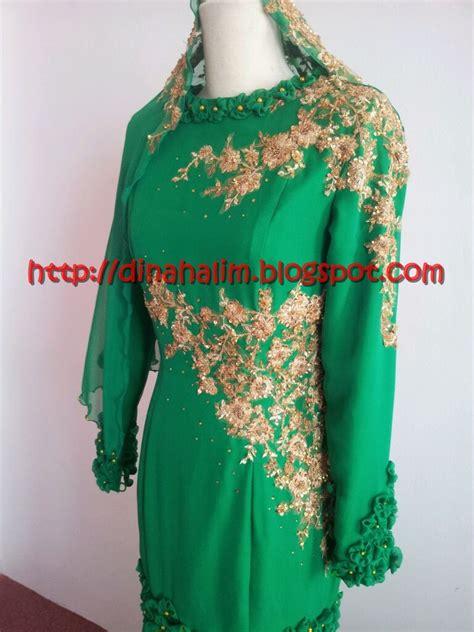 Baju Sedondon Emerald Green warna baju emerald baju kurung moden issandra saeeda collections baju pengantin warna hijau