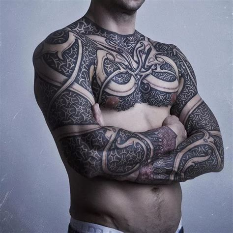 tattoo chest full 49 tribal tattoos you won t regret getting tattoomagz