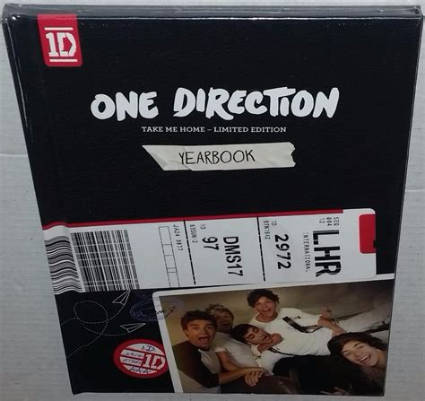 How One Sandwich Takes Me Home by One Direction Take Me Home Limited Edition Yearbook U S