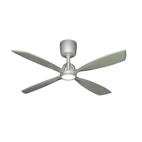 low profile ceiling fan with led light hton bay menage 52 in integrated led indoor low