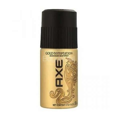 Parfum Axe And Gold axe gold temptation perfume for 150ml