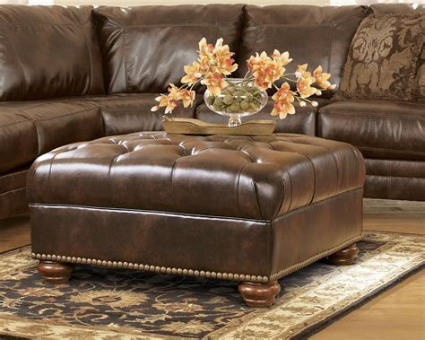 durablend antique sectional durablend traditional antique brown sectional sofa by ashley